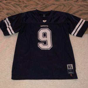Tops - Tony Romo Cowboys youth XL Jersey